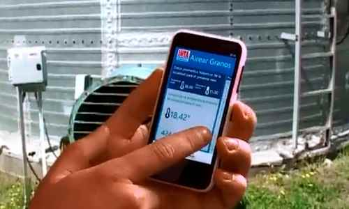 App argentina para monitorear la siembra desde un Smartphone