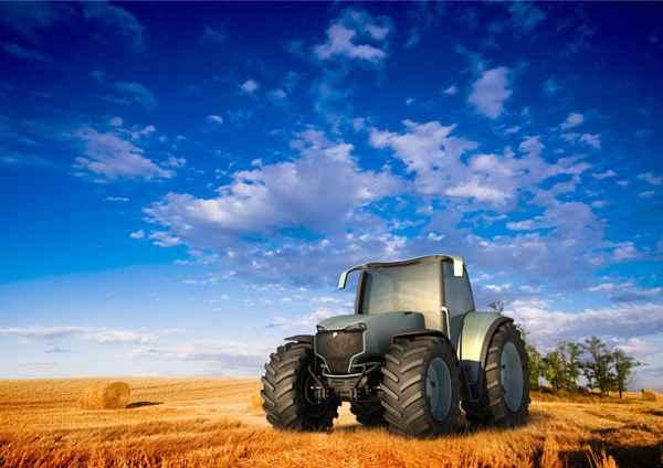 Las pantallas táctiles en las maquinarias agrícolas